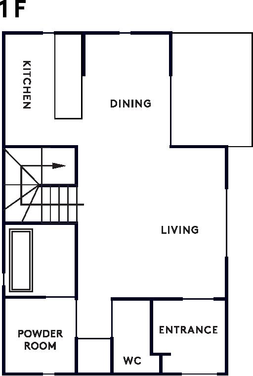 casita 1階設計図