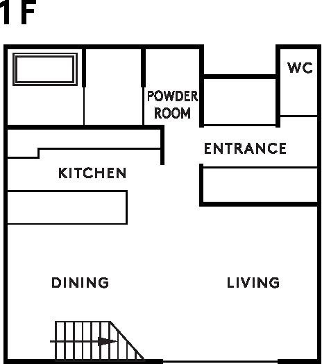 casa sole 1階設計図