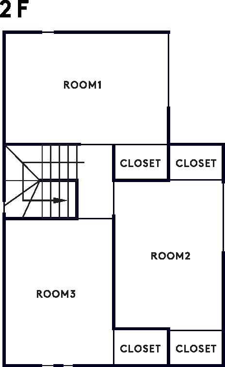 casita 2階設計図